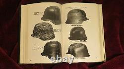 Allemand Helmets Livre Ludwig Baer Ww2 Allemand Travail De Référence Top
