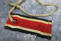 Allemand Ww2 Insigne Chevalier Croix De Fer Luftwaffe Uniforme Ruban De Cou Médaille Armée Marine