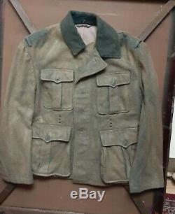 Allemand Ww2 M36 Laine Tunique Originale Armée Uniforme 1936 Veste Em Allemagne Guerre Mondiale