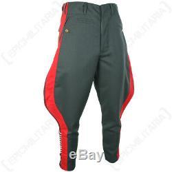 Allemands Généraux Gabardine Jodhpurs -ww2 Armée Pantalons Pantalons Repro Toutes Les Tailles New