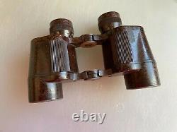 Antique Wwii Armée Allemande Dienstglas 6x30 Cxn Bakelite Jumelles