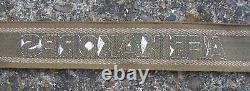 Armée Allemande Afrika Korps Arm Band Badge Ww2 Original