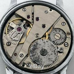 Armée Allemande Rare Militaire Wristwatch Felco Dh De La Période Ww2