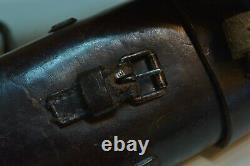 Armée Allemande Wehrmacht Ww2 Wwll Vintage Sniper Scope Leather Case