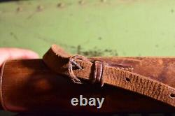 Armée Allemande Wehrmacht Ww2 Wwll Vintage Zf39 Sniper Scope Leather Case