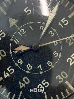 Armée Allemande Wempe Pilote Militaire Ww II Watch (301)