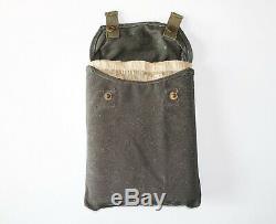 Armée Allemande Wwii Original Gaz Masque Cape En Sachet Marqué