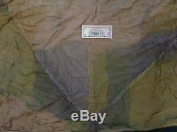 Auvent Parachute Fallschirmjager Original De L'armée Allemande Ww2 Avec Des Papiers