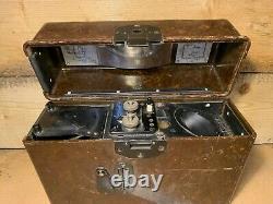 Boîte Téléphonique Originale Ww2 German Army Field Bakelite 1939