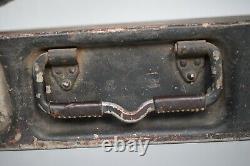 Boîtes De Rangement En Aluminium Mg Allemandes De La Seconde Guerre Mondiale X2 Ww2