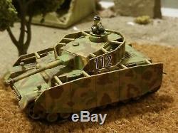 Bolt Action 28mm 1/56 Ww2 Pro Peint Beaucoup De L'armée Allemande