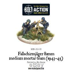 Bolt Action Wgb-start-11 Fallschirmjager (starter Armée Allemande) Seconde Guerre Mondiale Parachutistes