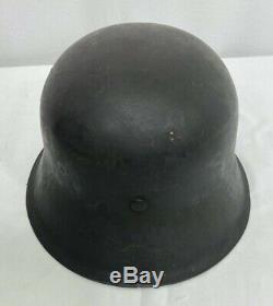 Casque De Combat Seconde Guerre Mondiale Armée Allemande