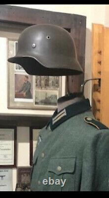 Casque De L'armée Allemande Seconde Guerre Mondiale