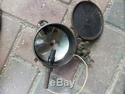 D'origine Guerre Mondiale 2 Armée Allemande Petite Lampe De Signal