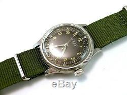 Domino Rlm, Horlogerie Militaire Rare Armée Allemande, Wehrmacht Luftwaffe Seconde Guerre Mondiale