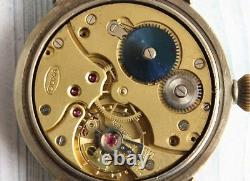 Doxa Armée Allemande Wwii Vintage Military 1939 1945 Hommes Wristwatch Mécanique