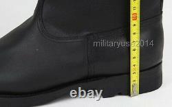 En Cuir Militaire Wwii Armée Allemande Em Officier De Combat En Cuir Bottes De Taille 3514
