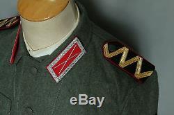 Ensemble Tunique Et Culasse Réplique Ww2 Armée Cosaque Volontaires Allemands