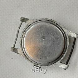 Etanche Ww2 II Montre Vintage Militaire Hommes Rare Poignet Armée Allemande Guerre Wristwatch