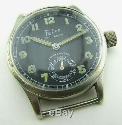 Felco Dh Wristwatch Armée Allemande Wehrmacht De La Période Seconde Guerre Mondiale. Militaire. Californie 1130