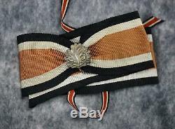 Fer Allemand Ww2 Insigne Chevalier De La Croix-wehrmacht Uniforme Heer Armée Ruban De Cou Médaille
