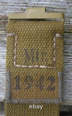 German Africa Web Unissued Belt- No Buckle- Ww2 Original