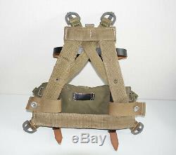 German Army Ww2 Repro Pack A-frame Czech Faite Avec Sangle + Poche Marqué Dyo 43