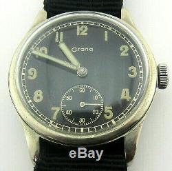 Grana Dh Wristwatch Armée Allemande Wehrmacht De La Période Seconde Guerre Mondiale. Militaire. Californie Kf 321