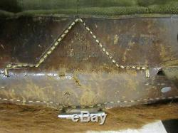 Guerre Mondiale Allemande II Armée Heer Poney Fur Paquet Sac À Dos Rucksack M34 Tornister