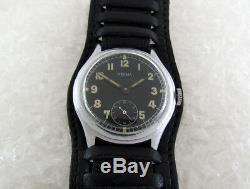 Helma D93469h Wehrmacht Armée Allemande Seconde Guerre Mondiale 1939-1945 Vintage Military Watch Suisse
