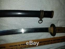 Japonaise Ww2 Armée Épée De Marine Landing Officiers De La Force Gunto Samurai Pas Allemand