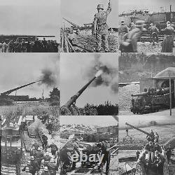 Jeu De Véhicules De Train Adolf Armée Allemande Wwii Ho Gauge Krupp K5 Chemin De Fer Nazi