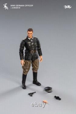 Joytoy 1/18 Ww II Armée Allemande Soldat Figure Set Camouflage Trio Officier Soldat