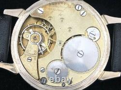 Junghans Military Style Wwii Armée Allemande 1939-1945 Vintage Swiss Men's Watch