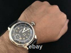 Junghans Military Wwii German Army Vintage 1939-1945 Montre-bracelet Mécanique Homme