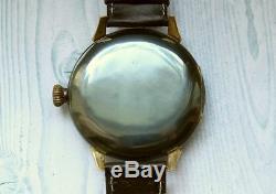 Junghans Seconde Guerre Mondiale Armée Allemande Militaire Vintage 1939-1945 Wristwatch Mécanique Hommes