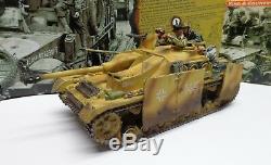 King & Country Ws069 (ws69) Ww2 Armée Allemande Stug IV Set Ed W Réservoir Limitée Coa