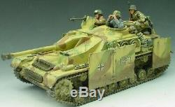 King & Country Ww2 Armée Allemande Ws047sl Ww2 Allemand Stug IV Set Réservoir Mib