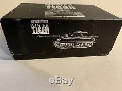 King & Country Ww2 Armée Allemande Ws070sl Hiver Tiger Set Réservoir Sib