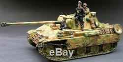 King & Country Ww2 Armée Allemande Ws072 Été Panther Set Réservoir Mib