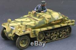 King & Country Ww2 Armée Allemande Ws101 Sdkfz 252 Transporter Sib