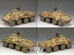 King & Country Ww2 Armée Allemande Ws197 Sd. Kfz. 234/1 Schwerer Panzerspahwagen Sib