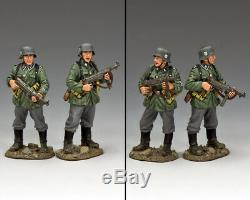 King & Country Ww2 Armée Allemande Ws315 Gardes Du Corps Bunker Sib