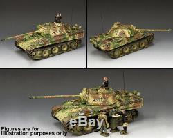 King & Country Ww2 Armée Allemande Ws351 Panther Ausf. G. Réservoir Set Mib