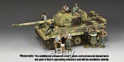 King & Country Ww2 Armée Allemande Ws352 Michael First Tiger Set Réservoir De Sib Wittmann
