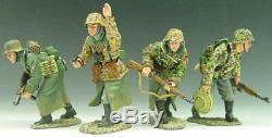 King & Country Ww2 Armée Ws048 Avance Allemande À Une Attaque Sib