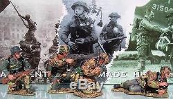 King & Country Ww2 Armée Ws051 Mg42 Équipe Gun Allemand Sib