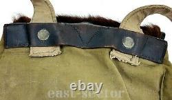 L'armée Allemande Backpack Ww2 Field Rucksack Pony Cowhide Fur Sac Militaire M34 Wwii