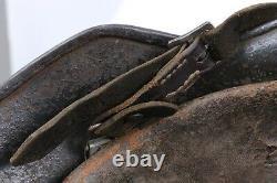 Mod Armée Allemande De La Seconde Guerre Mondiale. 35 Camo Painted Helmet Taille/fabricant Et64
